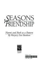 Seasons of Friendship Book