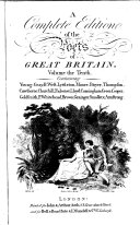 A Complete Edition of the Poets of Great Britain