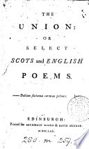 The union: or Select Scots and English poems