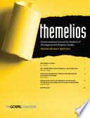 Themelios Volume 38 Issue 1