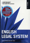Valuepack:Law Express:English Legal Systems/Law Express:Criminal Law 1st Edition/Law Express