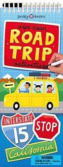 Road Trip Activities Book