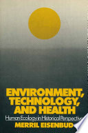 Environment Technology And Health
