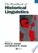 The Handbook Of Historical Linguistics