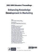 2002 AMA Educators  Proceedings  Enhancing Knowledge Development In Marketing