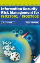 Information Security Risk Management for ISO27001 ISO27002 Book