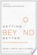 Getting Beyond Better