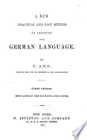 New... Method of Learning the German Language