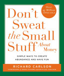Don t Sweat the Small Stuff About Money