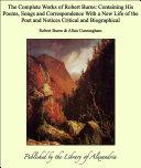 The Complete Works of Robert Burns Pdf/ePub eBook