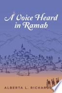 A Voice Heard In Ramah