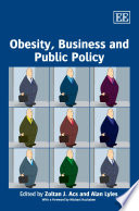 Obesity Business And Public Policy Book PDF
