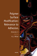 Polymer Surface Modification: Relevance to Adhesion