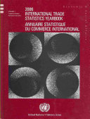 Annuaire statistique du commmerce international
