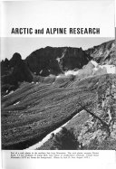 Arctic and Alpine Research