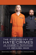 Pdf The Psychology of Hate Crimes as Domestic Terrorism: U.S. and Global Issues [3 volumes] Telecharger
