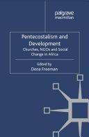 Pentecostalism and Development