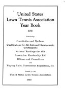 United States Lawn Tennis Association Year Book