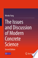 The Issues and Discussion of Modern Concrete Science Book