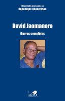 David Jaomanoro [Pdf/ePub] eBook