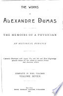 The Works of Alexandre Dumas  The memoirs of a physician