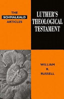 Luther's theological testament