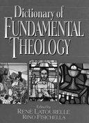 Pdf Dictionary of Fundamental Theology