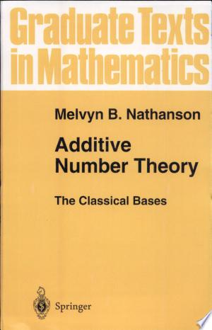 Free Download Additive Number Theory The Classical Bases PDF - Writers Club
