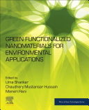 Green Functionalized Nanomaterials for Environmental Applications