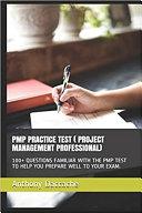 PMP PRACTICE TEST   PROJECT MANAGEMENT PROFESSIONAL
