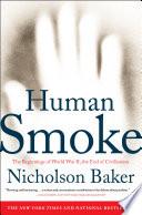 Human Smoke Book PDF