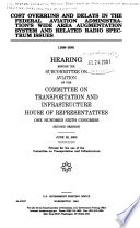 Cost Overruns And Delays In The Federal Aviation Administration S Wide Area Augmentation System And Related Radio Spectrum Issues