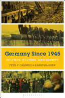 Cover of Germany Since 1945