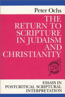 The Return to Scripture in Judaism and Christianity Pdf