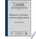 Malliavin Calculus and Its Applications