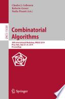 Combinatorial Algorithms Book PDF