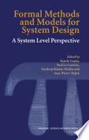 Formal Methods and Models for System Design