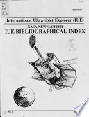 International Ultraviolet Explorer Iue Nasa Newsletter
