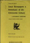 Victorian Studies Handlist