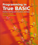 Programming in True BASIC