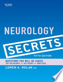 Neurology Secrets E Book Book PDF