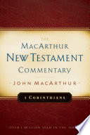1 Corinthians Macarthur New Testament Commentary Book PDF