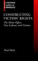 Constructing Victims' Rights