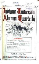Indiana University Alumni Quarterly