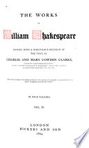Macbeth   Hamlet   King Lear   Othello   Anthony and Cleopatra   Cymbeline   Pericles   Poems Book