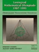 Leningrad Mathematical Olympiads 1987-1991