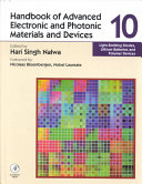 Handbook of Advanced Electronic and Photonic Materials and Devices  Light emitting diodes  lithium batteries and polymer devices Book