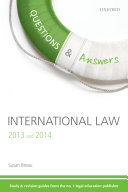 Q   A Revision Guide International Law 2013 and 2014