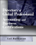 Directory of Global Professional Accounting and Business Certifications [Pdf/ePub] eBook