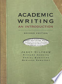 Academic Writing, second edition